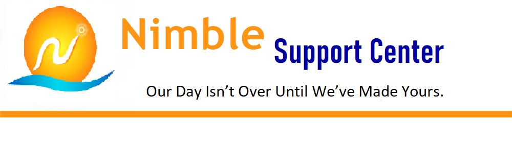 Nimble Support and Implementation